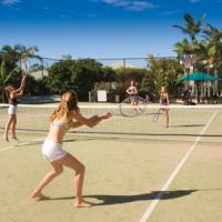 Full sized Tennis court!